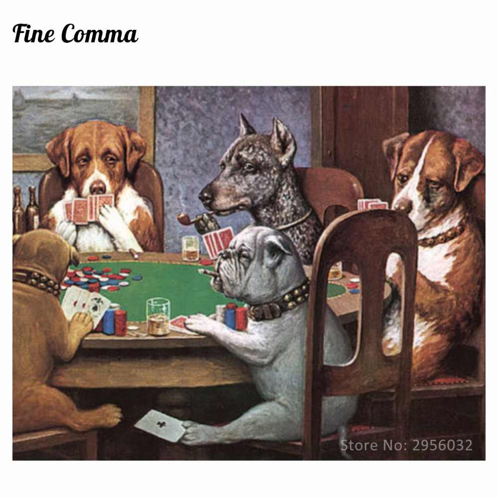 27c6a61c7a8 ... A Friend in Need Dogs Playing Poker by Cassius Marcellus Coolidge Hand  painted Oil Painting Reproduction ...