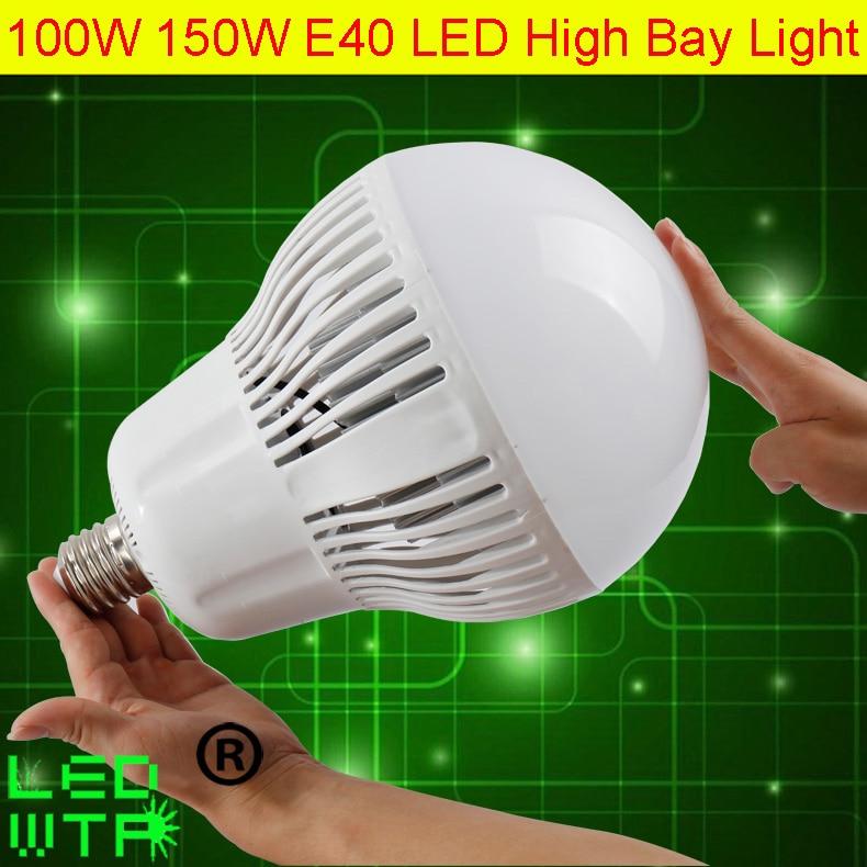 New Design High quality E40 Holder 150W High Bay Led Lights 110LM/W AC85-265V LED Driver 100W Led Highbay Light 3 Years Warranty