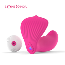10 Speed Wireless Remote Control Vibrator Strap On Panties Vibrating Dildo G Spot & Clitoral Vibrators Sex Toys For Woman