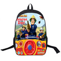 Anime Firman Sam Backpack Children School Bags Boys Girls Cartoon Robocar Poli Backpack Kids School Backpacks Thomas Book Bag