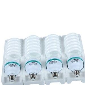 Image 1 - Bombilla fluorescente de luz diurna para fotografía, Base E27, 135 K, 4x5500 W, para Softbox, sesión fotográfica