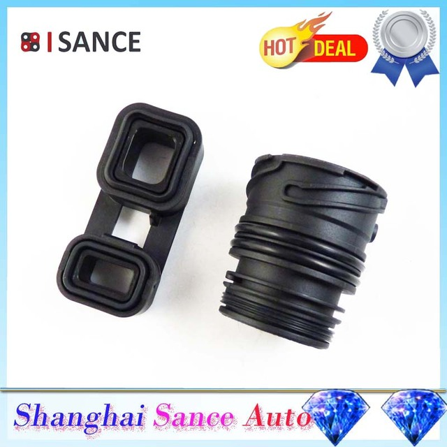 US $10 39 20% OFF|ISANCE Mechatronic Sealing Sleeve & Adapter 24347588725  24347588724 For BMW 128i 135i 325i 328i 330i 335i 525i 528i X1 X5 X6-in