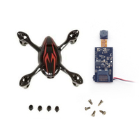 Hubsan H107C 200w video camera module repalcement and H107C bodyshell +5pcs screws+4pcs rubber feet freeshipping