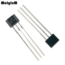 MCIGICM 1000pcs OH137 Hall Effect Sensor for Highly Sensitive Instruments TO 92S In kind Shooting