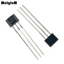 Mcimicm 1000 pces oh137 sensor de efeito hall para instrumentos altamente sensíveis TO 92S em tipo de disparo