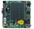 Nano itx sin ventilador mini pc motherboard 12 V J1900 CPU USB3.0