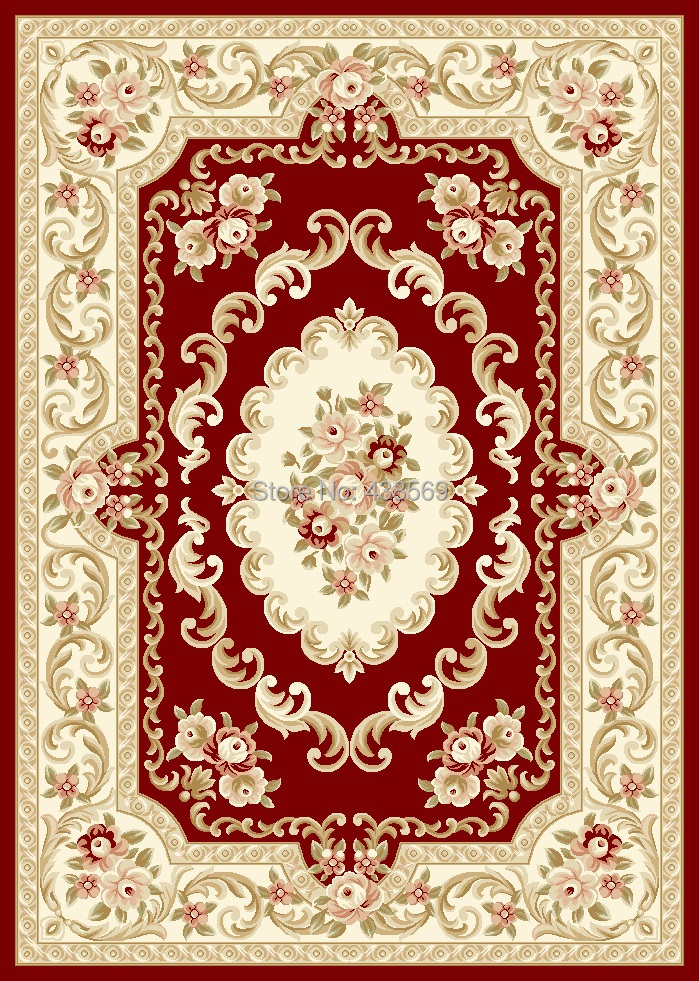 rugs high quality aubusson design machine tufted carpet