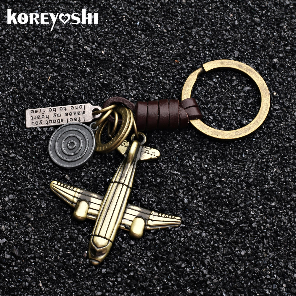 2019 airplane aeroplane model keychain key ring plane aircraft key chain key holder creative chaveiro portachiavi llaveros hombr