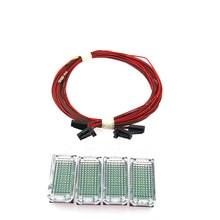 SCJYRXS Original LED Footwell Light + Cable For Golf MK5 MK6 Passat B6 B7 Octavia Seat Alhambra A4 A6 A8 Q5 TT 3AD947409