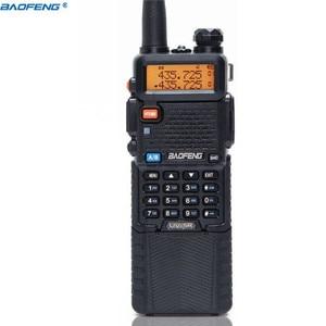 Image 3 - BaoFeng UV 5R 5W 3800mAh ארוך ליתיום סוללה Dual Band 136 174 & 400 520MHz חם CB שתי דרך רדיו ווקי טוקי משדר UV5R
