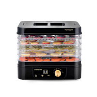 11L Household Electric Dried Fruits Dehydrator 5 Layers Food Dryer PP ABS Fruit Vegetable Herbs Drying