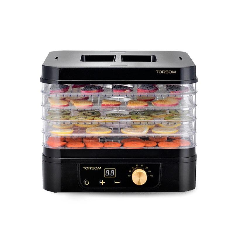 11L Ménage Électrique Fruits Secs Déshydrateur 5 Couches Sécheur de La Nourriture PP + ABS Fruits Légumes Herbes Séchage Machine