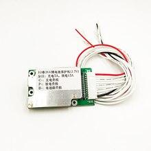 E bike bateria de lítio de íon de lítio, 10s 36v 15a 18650 proteção de bateria bms pcb placa equilíbrio