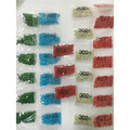 [Алмазные аксессуары для рисования] Оптовая продажа  квадратные стразы из смолы  бриллианты «447 цветов/сумка»  можно выбрать цветные аксессу...