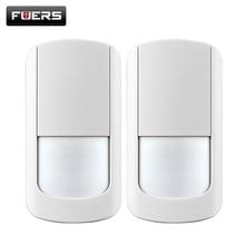2 шт./лот 433 МГц Беспроводной Датчик PIR Motion Detector For Wireless Wifi Системы Домашней Безопасности Сигнализации G90B батареи включают