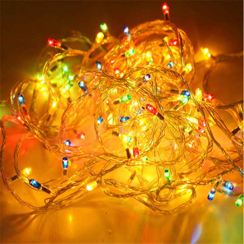 4m christmas tree decorative pendant color led rice light for Decoration 4 christmas