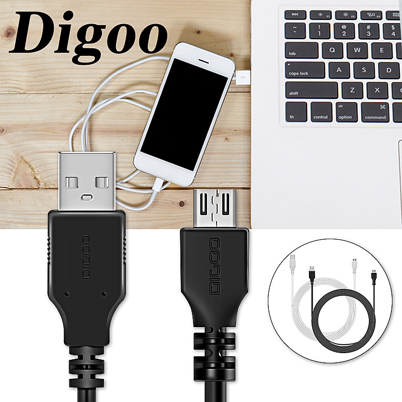 DIGOO DG-BB-13 MW 9.99 láb hosszú, 3 méter hosszú micro USB - Biztonság és védelem - Fénykép 6