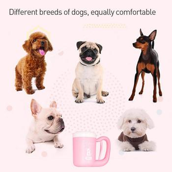 Pet Dog Paw cleaner Cup Cat Dog foot Cleaner Cup Pet Feet Cleaning Soft Paw Foot Brush Dirty Feet Washing Pet Cleaning Supplies 4