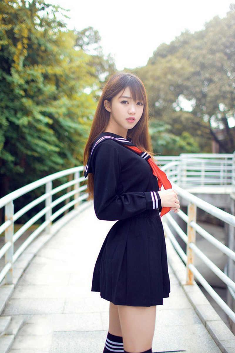 Подросток Обувь для девочек JK японский Школа Студент Единая Сейлор платье Енма Аниме Костюм пикантные плиссированные юбки наряд для женщин; Большие размеры