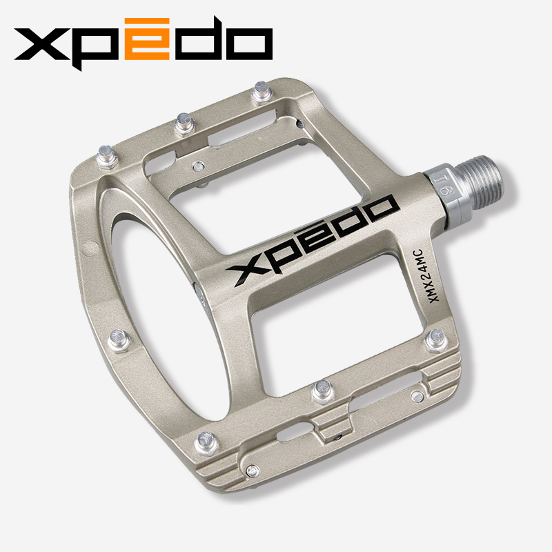Mountain Bike Bicycle Pedals Cycling Ultralight Aluminium Alloy Pedals Bicicleta Mountain Bicycle Cycling Pedals Flat XMX24MC