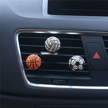 Air freshener in The Car styling bling diamond football basketball Perfume