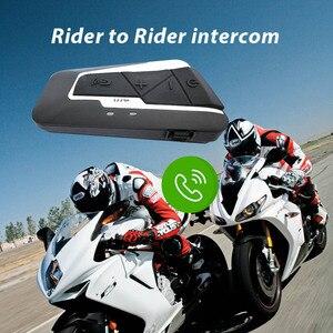 Image 3 - Fones de ouvido sem fios para motocicleta, mais novos intercomunicadores com bluetooth, 1200m bt, à prova d água, rádio fm, para 2 pilotos