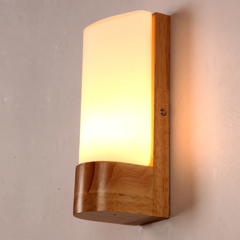 Aplik Modern Led Wall Light With Glass Lampshade Indoor Lighting Wall Sconce Arandela Lampara Pared Led Lamps