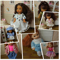 5Set Clothes+5pairs Shoes Mini Doll Accessories Casual Clothes For Kelly Dolls