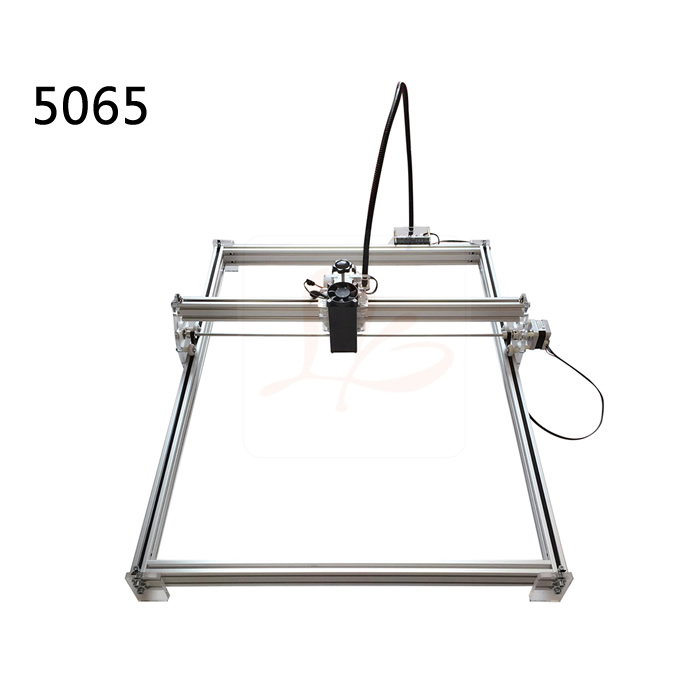 DIY Blue Violet Laser Engraving Machine mini marking router woork stoke 50*65cm with 500mw/2500mw