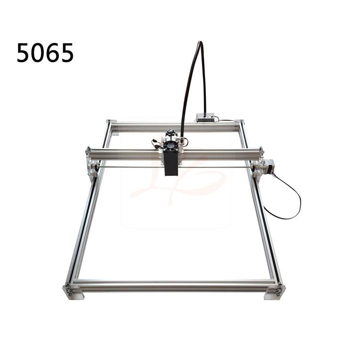DIY Blue Violet Laser Engraving Machine mini marking router woork stoke 50*65cm with 500mw/2500mw