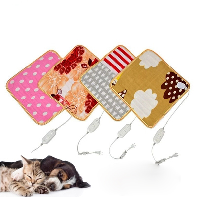 Home Heaters Thermostat Warm Carpet Heating Office Chair Cushio Square Multifunctional Plush Heated Electric Blanket Pet Heating Pad Safety Household Appliances