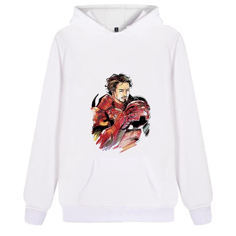 Marvel Avengers Iron Man Men woman Sale Hoodie Pattern Fashion Flannels Hoody Kangaroo Pocket Casual Junior Sportswear A193291 in Hoodies amp Sweatshirts from Men 39 s Clothing