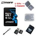 Smare novo cartão micro sd cartão de memória de 32 GB classe 10 cartão de memória real frete grátis