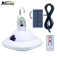Albinaly Waterproof 22 LED Solar Light Outdoor Garden Light Solar Powered Yard Hiking Tent Camping Hanging