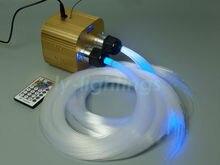 Мерцание звезд Оптическое волокно фонари светодиодные двигателя 600 шт. x 3 м ПММА оптического волокна беспроводной пульт дистанционного RGBW потолочный светильник