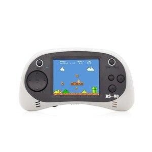 Image 5 - RS 8D 2.5 lcd الاطفال ريترو يده ألعاب لاعب والتلفزيون لعبة فيديو المدمج في 260 ألعاب المدرسة القديمة المحمولة ممر الألعاب