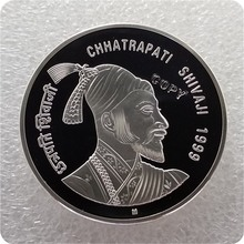 1999-M Индия 100 рупий(Chhatrapati Shivaji) Имитация монеты
