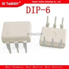 10pcs/lot New MOC3043 MOC3043M DIP-6 Optoisolators Triac Driver Output 10pcs lot a2201 dip 8 optical coupler oc optocoupler