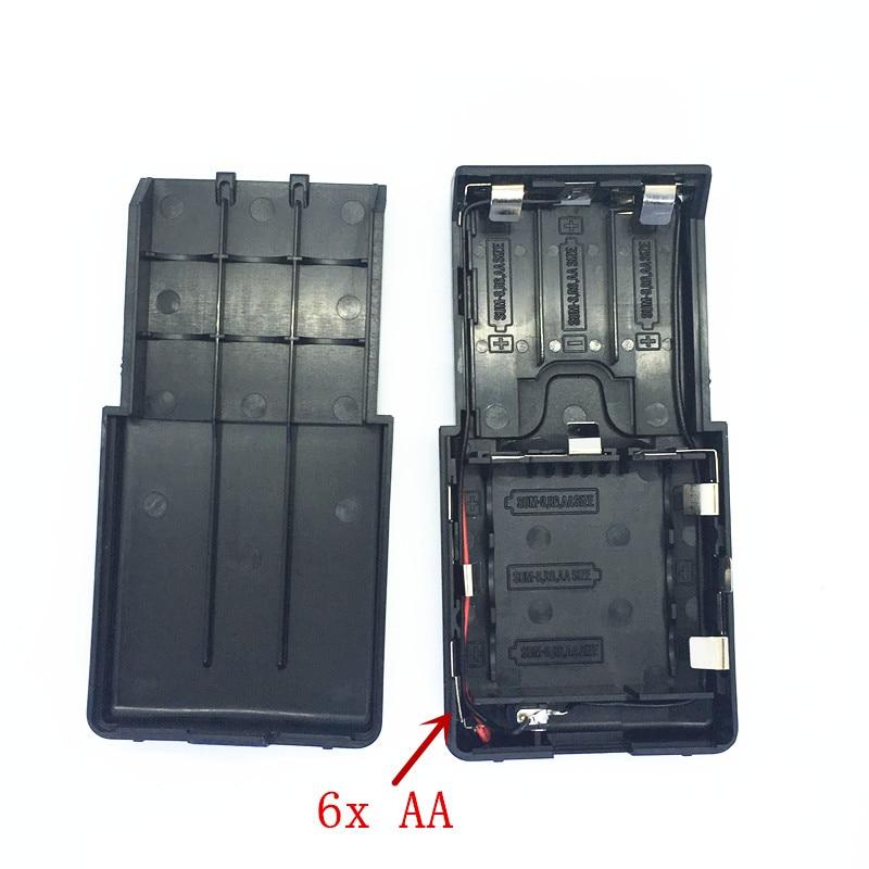 BT-32 6xAA коробка для батарейного отсека для Kenwood TK308 TK208 TH22AT TH42AT портативная рация