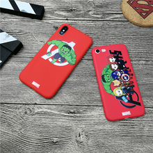 Hulk film Avengers Marvel case for iphone 11 PRO X XS MAX XR 10 8 7 6 6S plus soft matte silicone phone cover Coque fundas capa