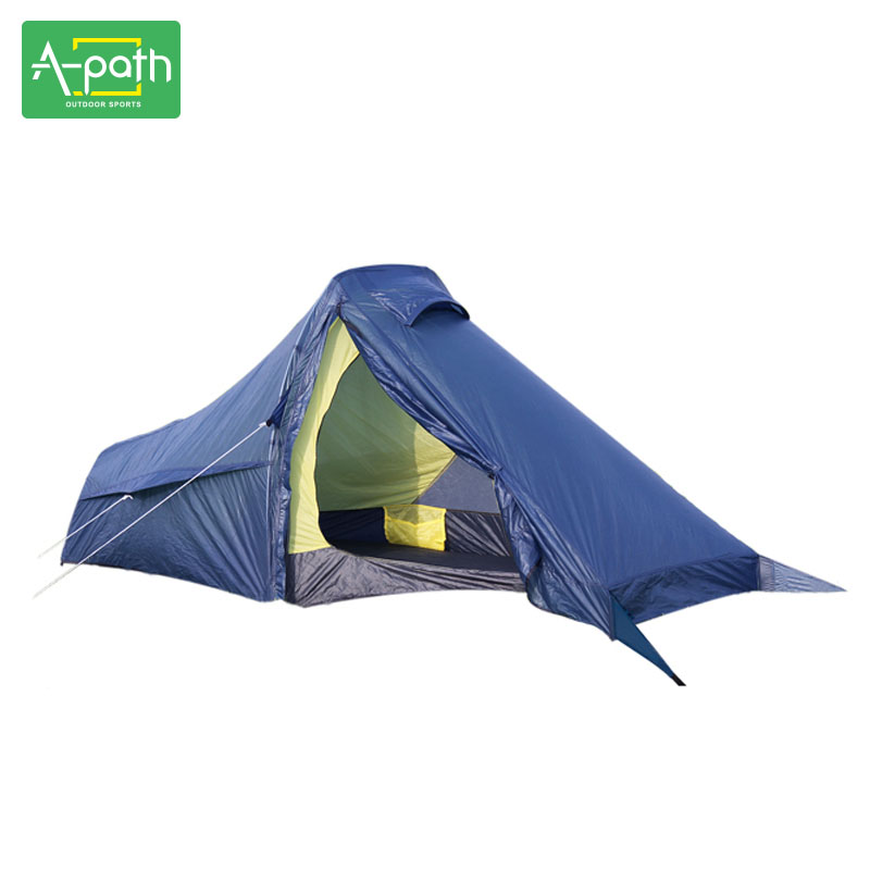 1 Person Winter Tente Outdoor Camping for Tent Beach Folding Travel Ultralight Tent Mosquito Net Single Tents China PU 4000mm high quality outdoor 2 person camping tent double layer aluminum rod ultralight tent with snow skirt oneroad windsnow 2 plus