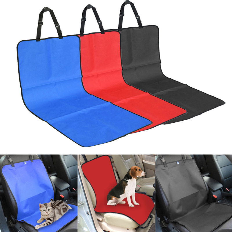 Car pet seat covers waterproof back bench seat oxford car interior travel accessories car seat for Travel gear car