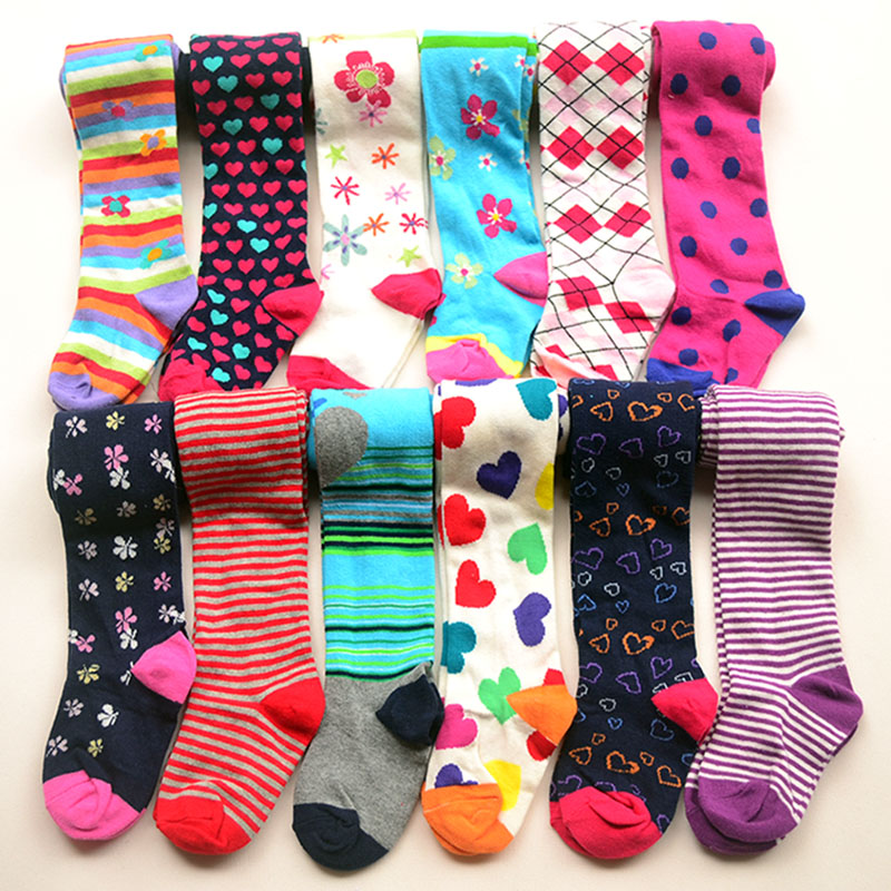 3pairs / Pack 1-8y Baby Pambıqlı külotlu çorap Uşaq - Uşaq geyimləri - Fotoqrafiya 5