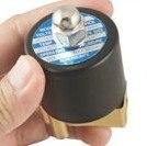 """5 шт. 1/"""" латунь Электрический электромагнитный клапан газовая вода 12VDC 2W025-08"""