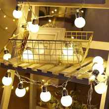 5M 20leds 5CM Balls Led Globe String Light Fairy for Wedding Party Christmas Decoration Outdoor Holiday lighting
