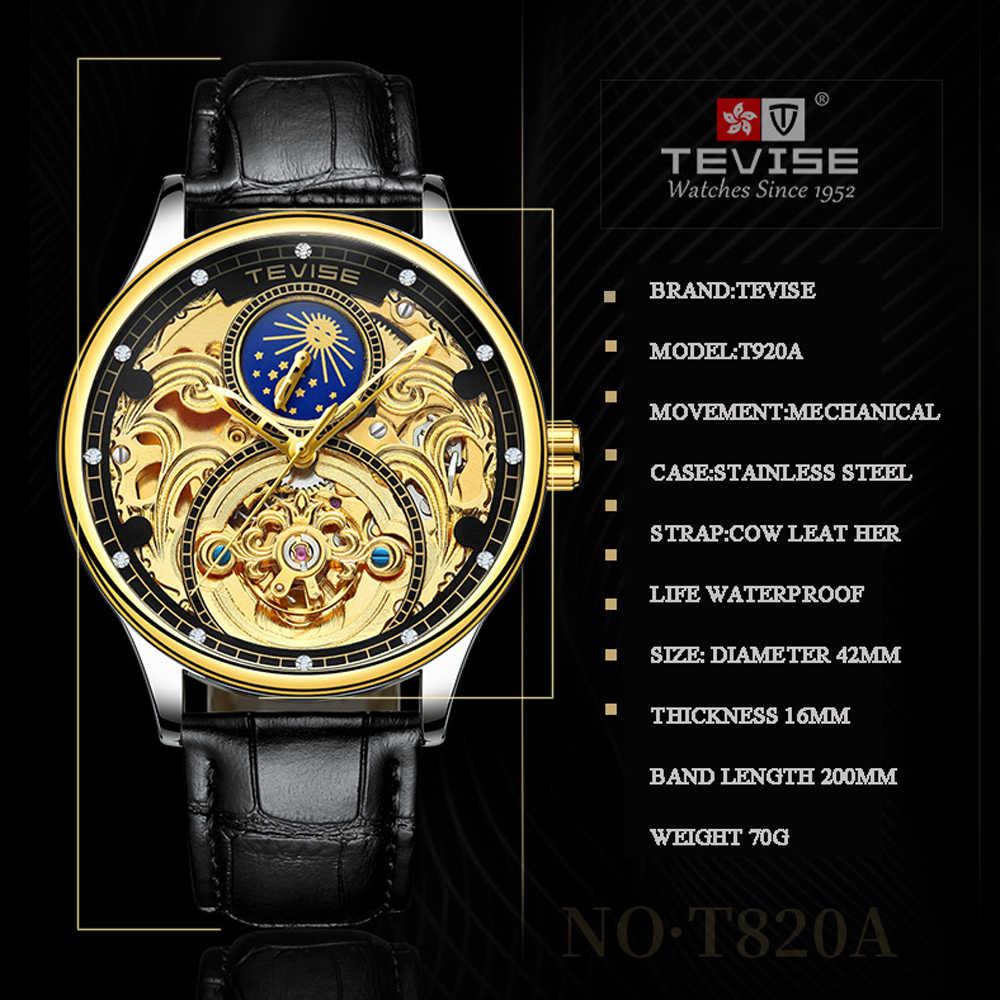 9e3446841e6 ... Men Watch Tevise Men Skeleton Automatic Mechanical Wrist Watches  Tourbillon Business Casual Watch Relogio Masculino Gift ...