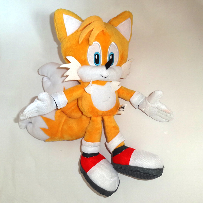 Anime Super Sonic Plush Toys The Hedgehog Tails Ultimate Flash Fox