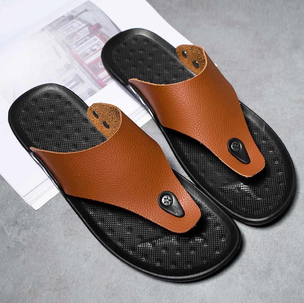 Chanclas Casuales Moda Salvajes De Chamsgend Para Transpirables Hombre Sandalias Playa Ligeras Zapatos Cómodas Zapatillas EYWHDI29
