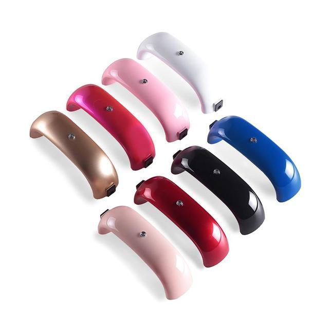 9/12 W LED מנורת נייל מייבש ציפורניים מנורות נייד USB כבל עבור ראש מתנת בית יבש ג 'ל ציפורניים פולני מניקור כלים מנורת לציפורניים