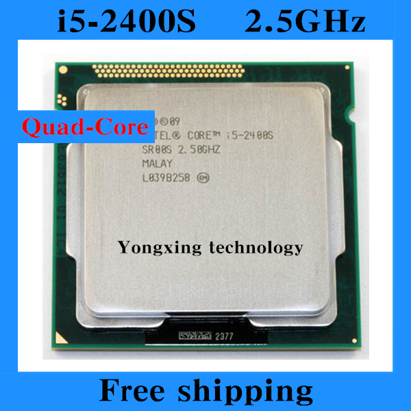 Core i5 2400S 2.5GHz 6M SL00S Quad Core Four threads desktop processors Computer CPU Socket LGA 1155 pin